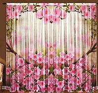 ФотоТюль Весенние цветы