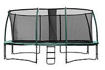 Батут Super Tramps Top Trampoline (3х4,3 м) с сеткой и лестницей