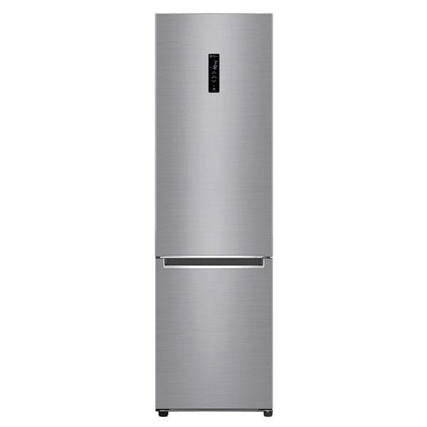 Холодильник с морозильником LG GA-B509SMUM серебристый
