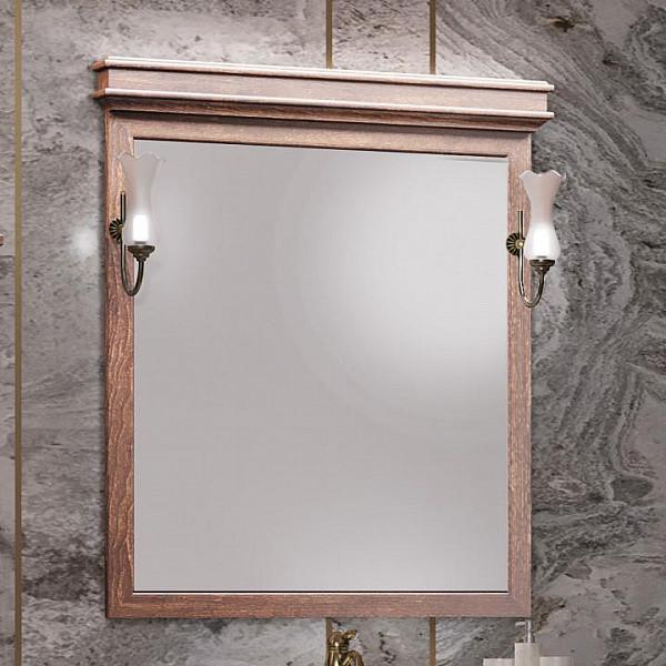 Зеркало Opadiris Борджи 85 цвет светлый орех(Z0000012701)