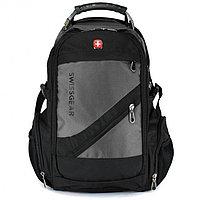 Городской рюкзак Swissgear 8810 чёрно-серый