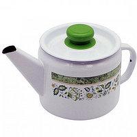Чайник эмалированный Уральский сувенир, 1 литр