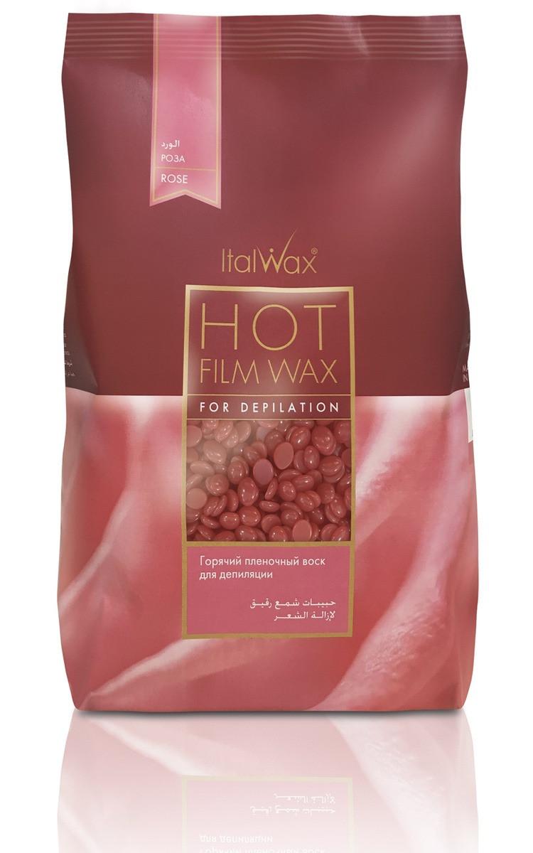 Italwax «Роза» пленочный воск в гранулах (горячий) для депиляции (пакет 1 кг.)