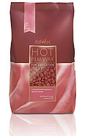 Italwax «Роза» пленочный воск в гранулах (горячий) для депиляции (пакет 500гр )
