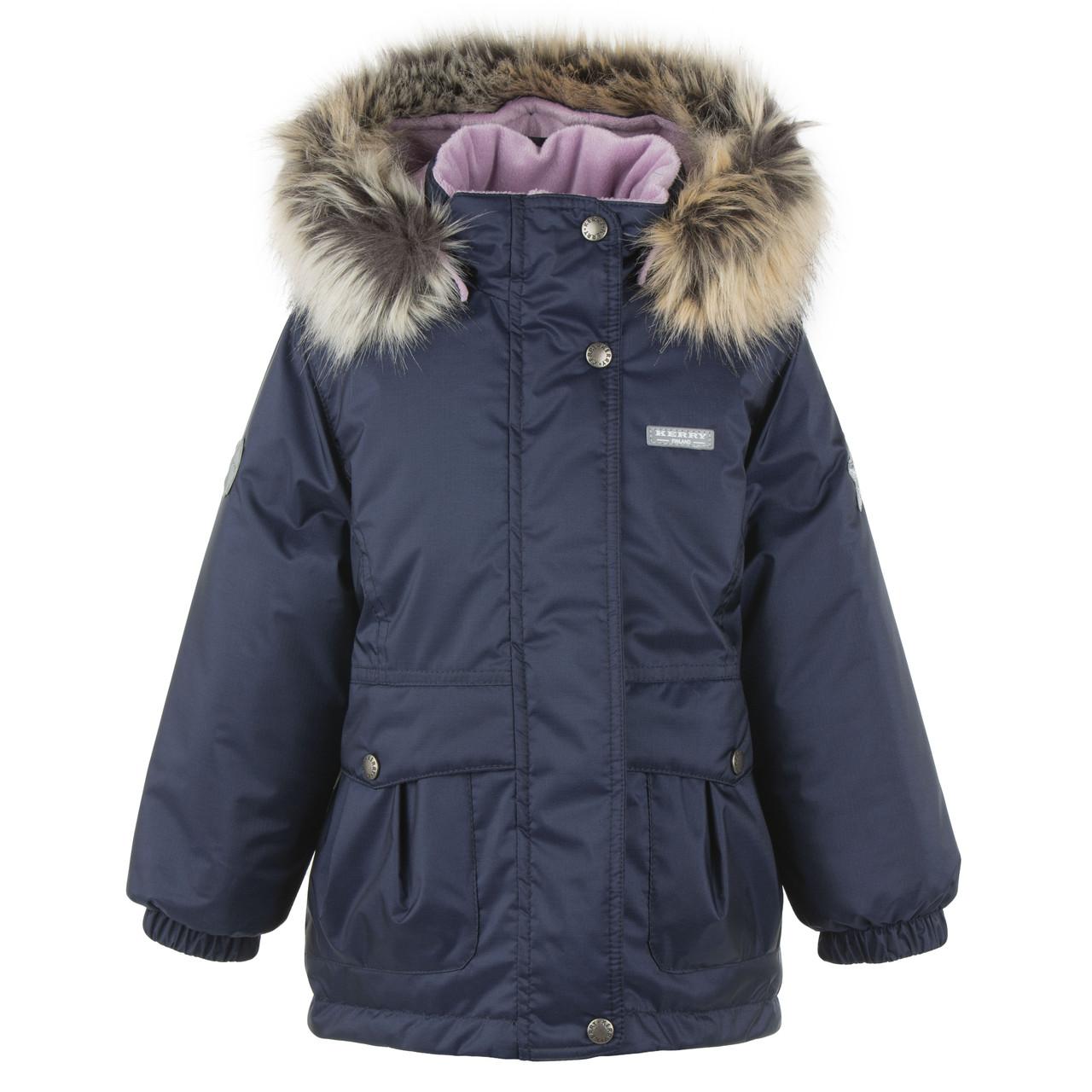 Куртка-парка для девочек Kerry PERLA