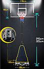 Мобильная баскетбольная стойка FT-S024, фото 7