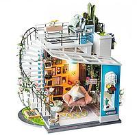 Деревянные 3D пазлы Дома миниатюры УЮТНЫЙ ЛОФТ