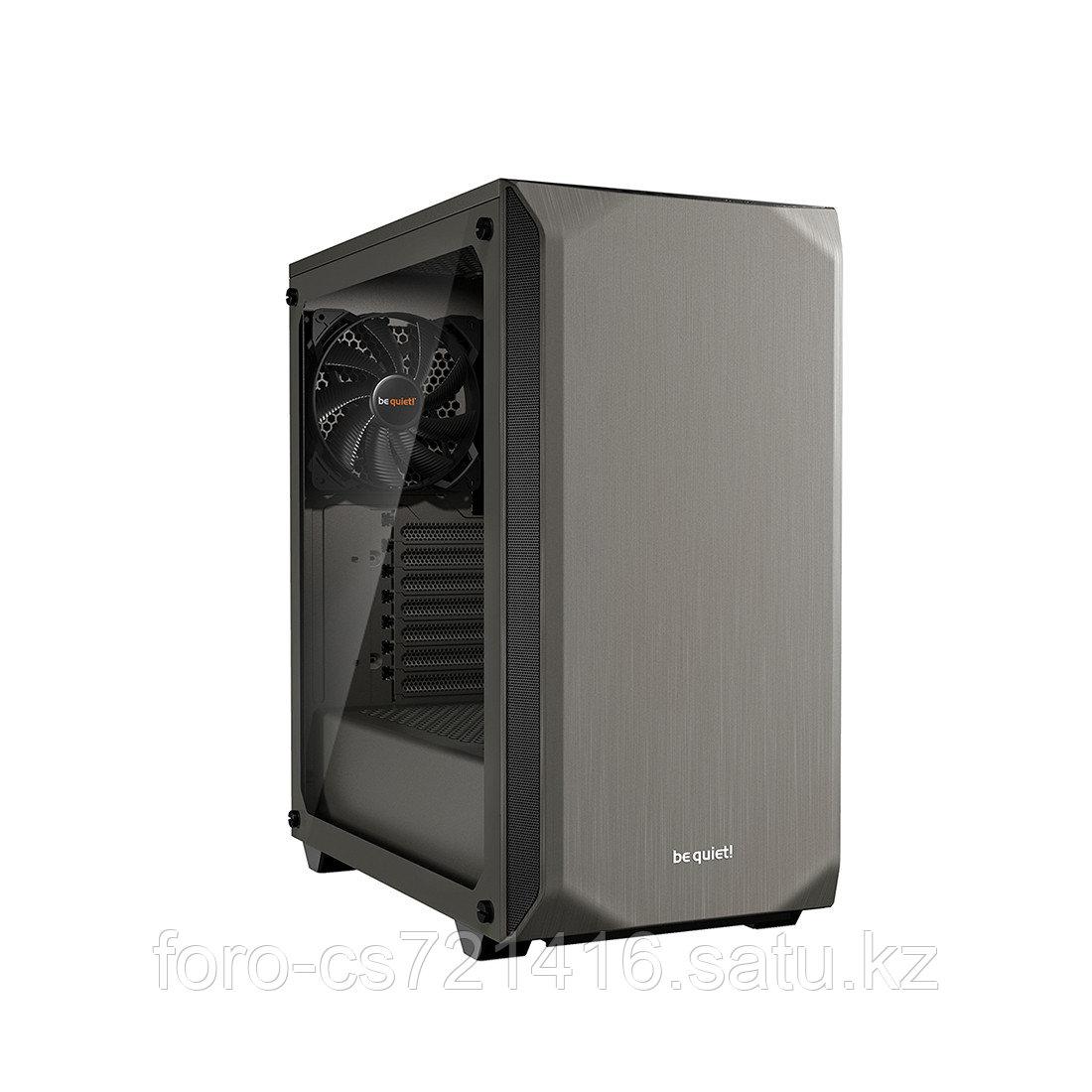 Компьютерный корпус Bequiet! Pure Base 500 Window Metallic Gray