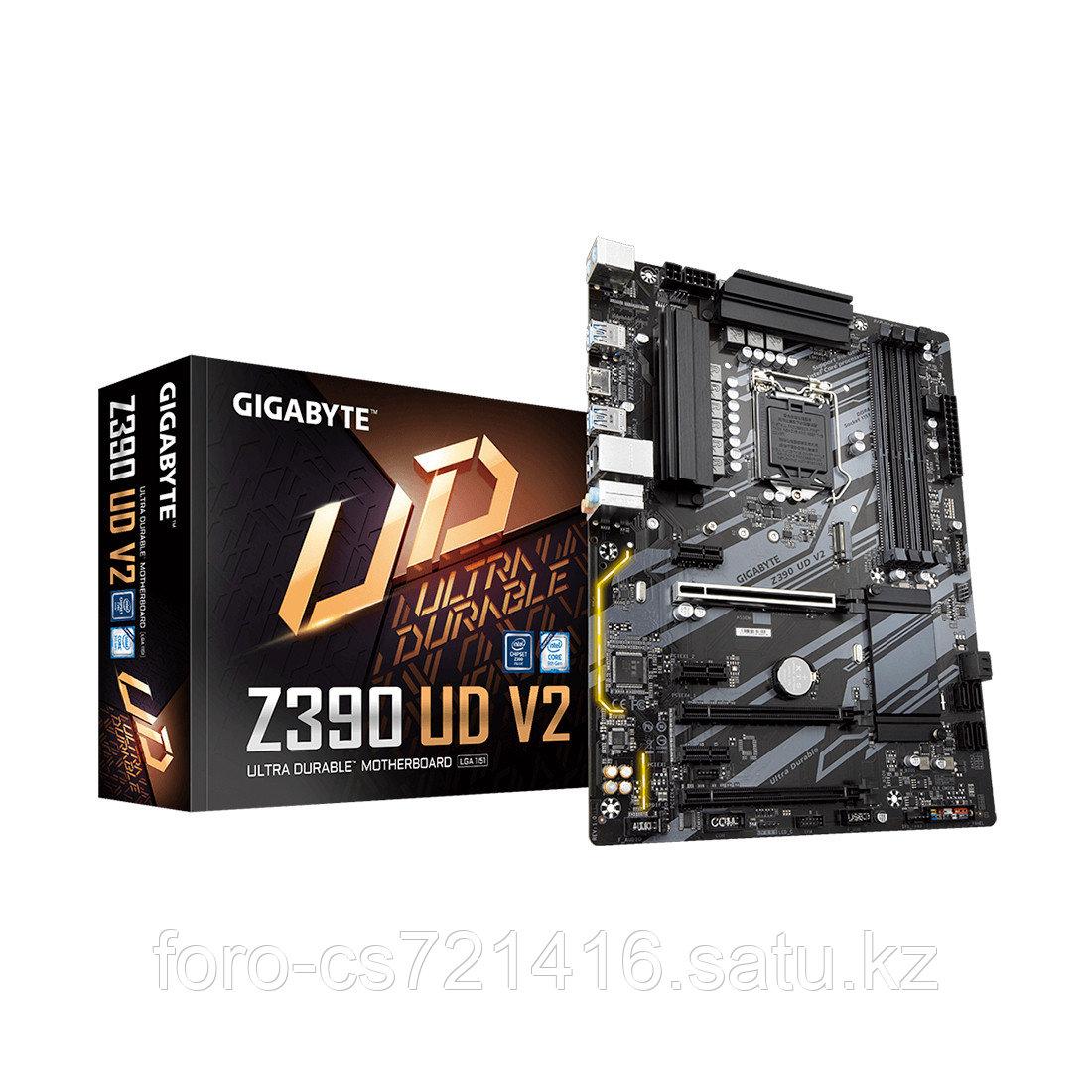Материнская плата Gigabyte Z390 UD V2