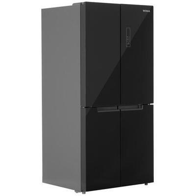 Холодильник многодверный Winia RMM700BGW черный