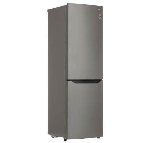 Холодильник с морозильником LG GA-B419SLJL серый