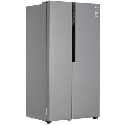 Холодильник Side by Side LG GC-B247JLDV серебристый