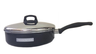 Сковорода алюминиевая с антипригарным покрытием 24см, Montreal Tramontina