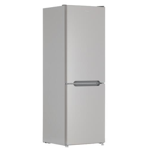 Холодильник с морозильником Candy CCRN 6180S серебристый