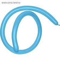 Шар для моделирования 160, стандарт, пастель, голубой, набор 100 шт.