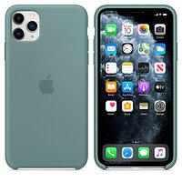 Apple iPhone 11 Pro Max Silicone Case Cactus аксессуары для смартфона (MY1G2ZM/A)