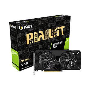 Видеокарта PALIT GTX1660 DUAL 6G (NE51660018J9-1161C)