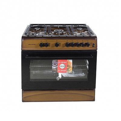 Кухонная плита MILANO ML90G5/01 коричневый 9091