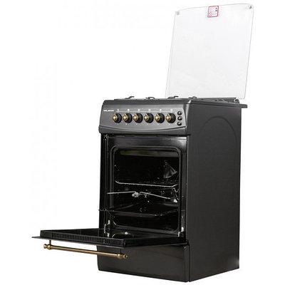 Кухонная плита MILANO F55G4/01 (50x60) (с позж подст с вертелом) ретро 5024