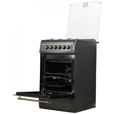 Кухонная плита MILANO F55K31E/01 (50x60) (с подж подсветка с вертелом эл духовка) ретро 5027