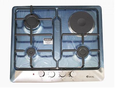 Настольная плита IDEAL 30210-N 3+1 60х60 INOX