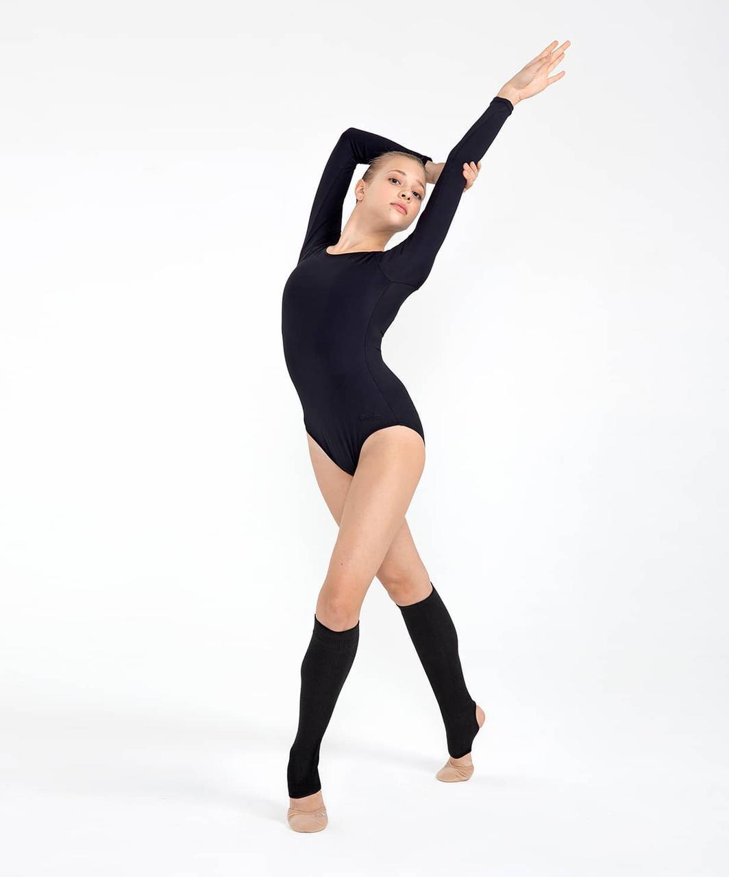 Гетры гимнастические разогревочные Stella, шерсть, 30 см Chanté