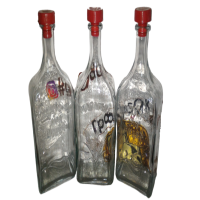 Бутыли, бутылки, крышки, бокалы