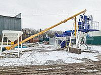 КОМПАКТ-20 — хоть и небольшой приобъектный бетонный завод, но всегда успешно справляется с возложенными на него задачами.