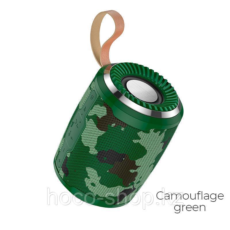 Портативная колонка Hoco BS39 зелёный