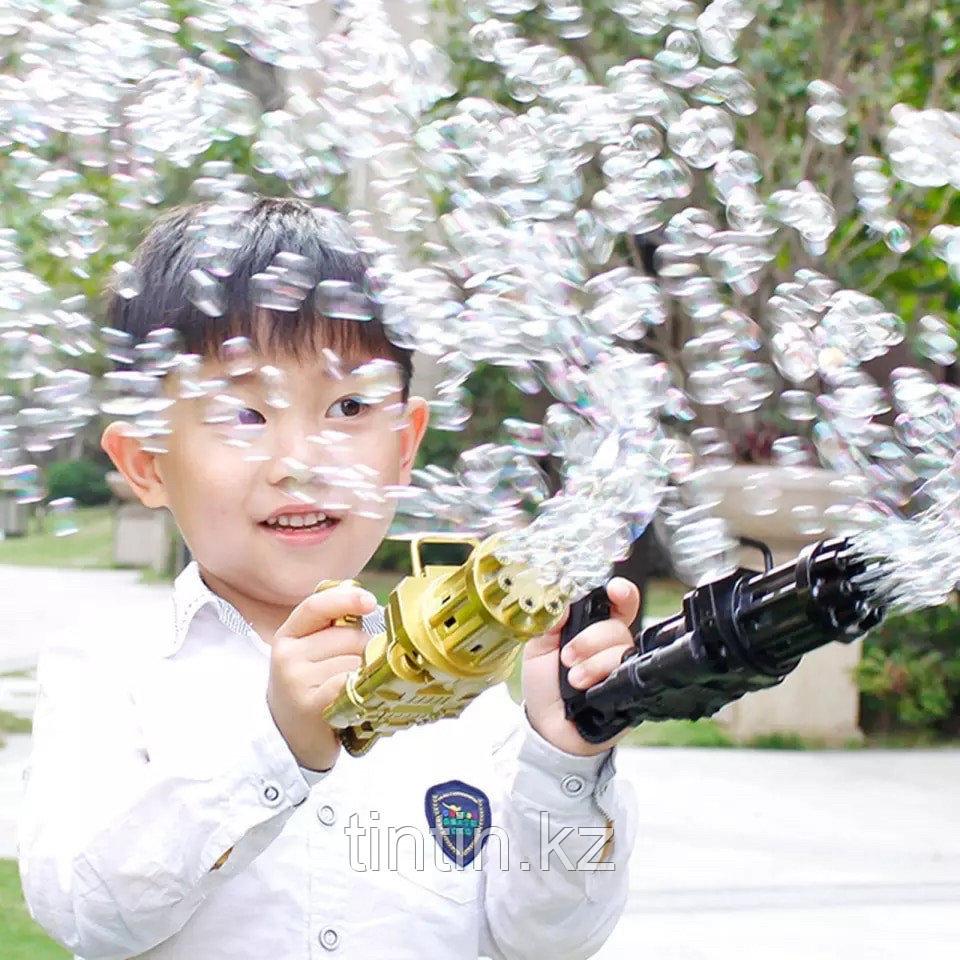 Пулемёт с мыльными пузырями