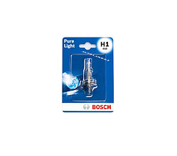 Лампа BOSCH Pure Light H1 12V 55W P14.5s (в блистере)