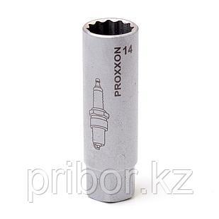 """23553 Proxxon Свечной ключ тонкостенный на 3/8"""", 14 мм"""