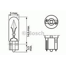 Лампа BOSCH Pure Light W2X4,6D