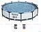 Семейный Бассейн каркасный детский INTEX и BESTWAY 366х76 см с фильтр-насосом / KASPI RED, фото 2
