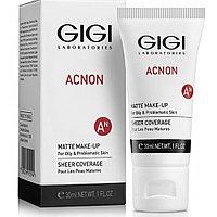 ACNON MATTE MAKE UP, Тональный матирующий крем для жирной и проблемной кожи, 30 мл
