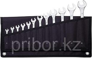23825 Proxxon Набор комбинированных ключей 12 шт, 6-19 мм