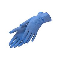 Перчатки нитриловые текстурированные неопудренные