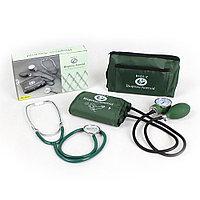 Прибор для измерения АД Biopress® Aneroid, 50х14см зеленый, модель BL-ASM-1, со стетоскопом Biotone®
