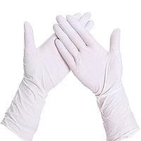 Перчатки латексные, опудренные, нестерильные, S, M, L