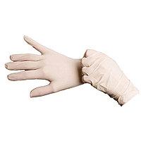 Перчатки смотровые, латексные, стерильные, текстурированные (с валиком)