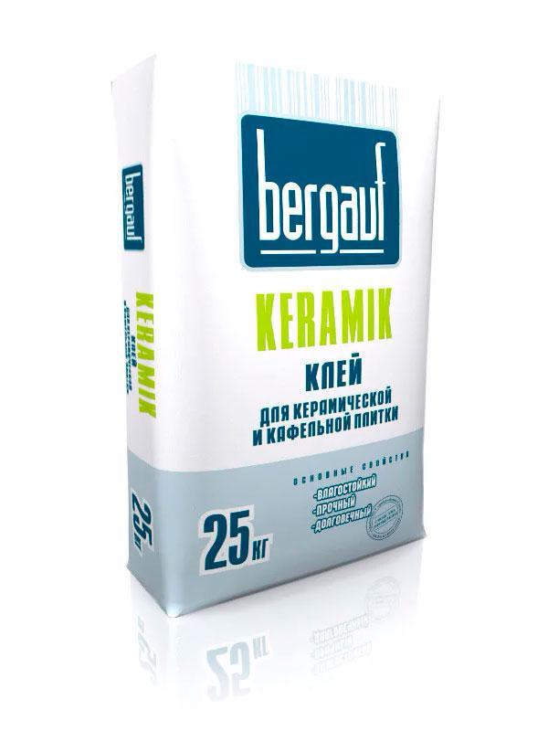 Клей для керамической плитки Bergauf Keramik 25 кг