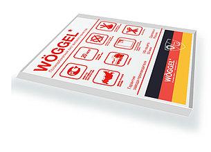 Монолитный поликарбонат прозрачный Woggel 2050х3050x 3 мм