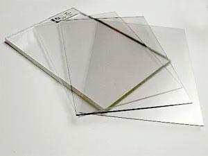 Монолитный поликарбонат прозрачный Woggel 2050х3050x 4 мм, фото 2