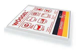 Монолитный поликарбонат цветной Woggel 2050х3050x3 мм