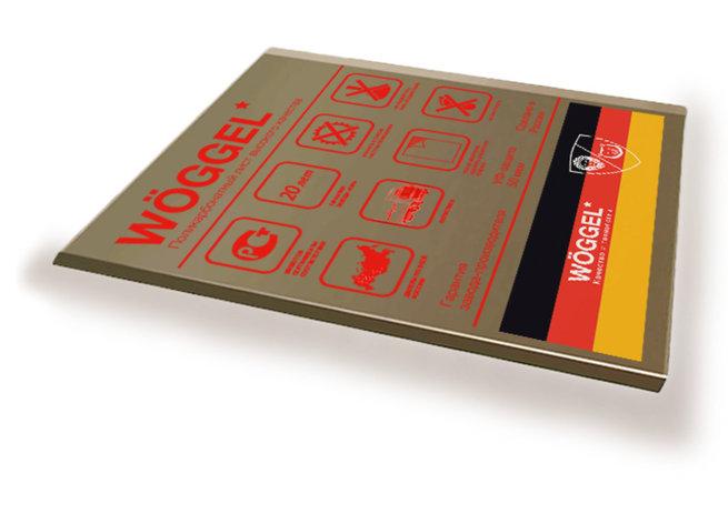 Монолитный поликарбонат цветной Woggel 2050х3050x 4 мм, фото 2