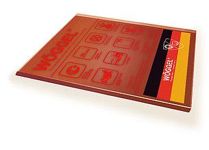 Монолитный поликарбонат цветной Woggel 2050х3050x 5 мм
