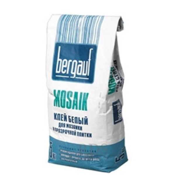 Клей для мозаики и прозрачной плитки Bergauf MOSAIK, 5 кг