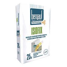 Клей для пенополистирола, минваты Bergauf ISOFIX, 25 кг