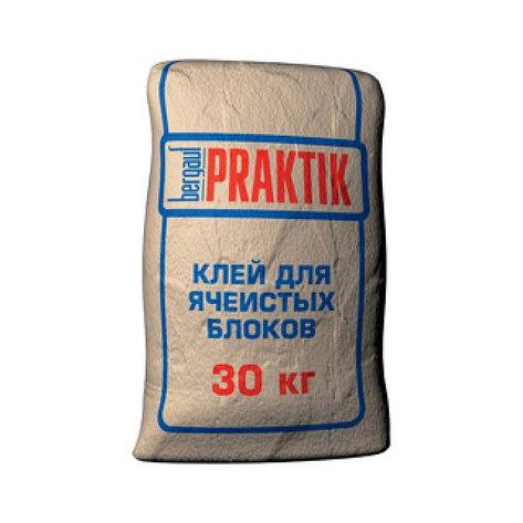 Клей для ячеистых блоков PRAKTIK , 30кг, фото 2