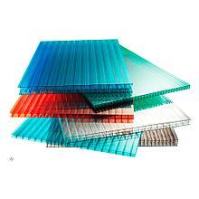 Сотовый поликарбонатный лист цветной Skyglass 2100х12000х10мм